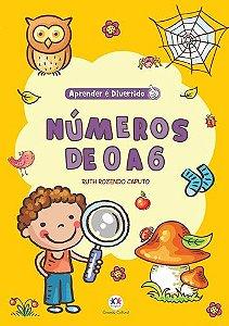 Livro NÚMEROS DE 0 A 6 - Ciranda Cultural
