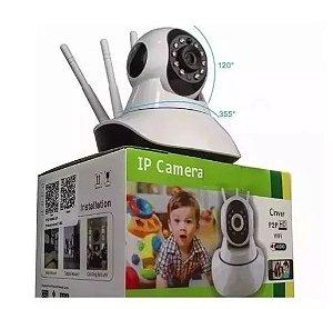 Camera Wifi 3 Antenas Hd 720p App Yoosee/yyp2p Noturna