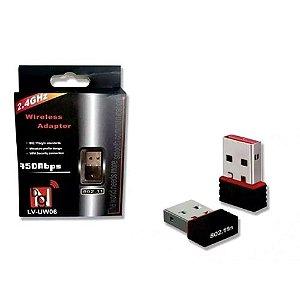 Adaptador Wireless Usb Sem Fio Wifi 950 MBPS - 802.11