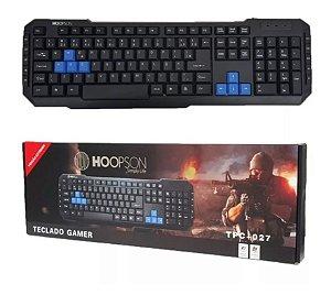 Teclado Gamer Hoopson Preto Usb Tpc-027