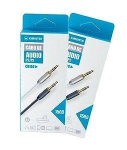 Cabo de áudio P2/P2 KIMASTER CB106