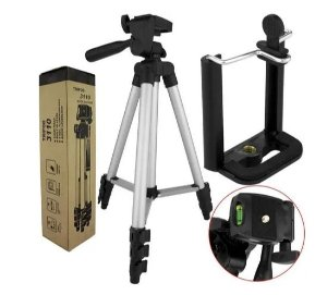Tripé Telescópico Profissional P/ Câmera/celular TriPod 3110