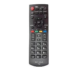 Controle Remoto P/ Tv Lcd Led Panasonic Tc-l32xm6b Tc-l32b6b