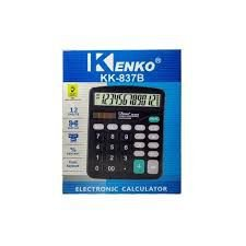 Calculadora Eletrônica Kk-837b De Mesa Portátil 12dg