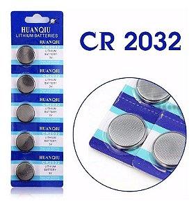 Bateria Lithium Cr2032 3v Huanqiu (1 Cartela) Pronta Entrega