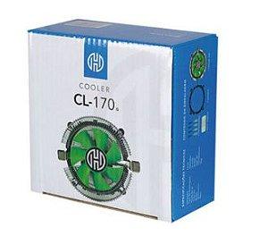 Cooler AMD e Intel Universal Verde Hoopson - CL-170G - CL-170G