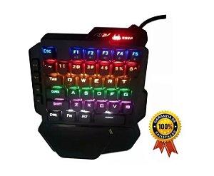 Teclado Gamer Single Hand (uma Mão) Kp-2062 - Knup