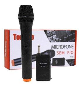 Microfone Sem Fio Tomate Mt-2203