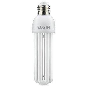 Lampada Fluorescente Elgin Compacta 3U 127v
