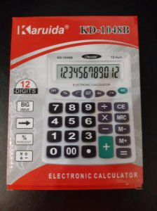 Calculadora Mesa 12 Digitos Kd-1048b - Karuida