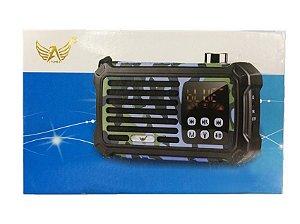 Rádio Camuflado Bluetooth com Lanterna 5W AL-901 - Altomex