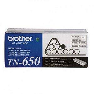 Toner Brother TN650 - preto 8000 páginas - serie HL-5340D/DCP8085DN/DCP8070D