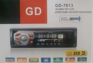 Fm Compact Mp3 Player GD-7613