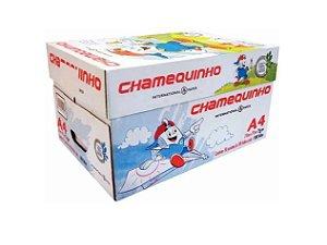 Papel Sulfite A4 Chamequinho, 210 x 297mm, 75grs, 50 Pacotes com 100 Folhas, Branco - A4 75G CHQ BC