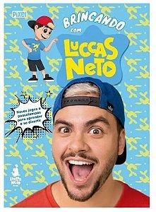Livro infantil Brincando com Luccas Neto Catavento PT 1 UN