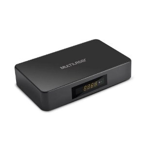 Smart TV Multilaser Box Hibrido Android + Conversor 1GB Ram + 8GB Flash Preto - PC001
