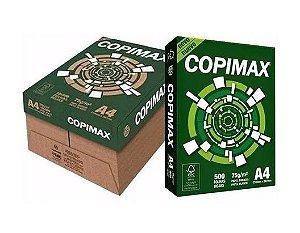 Papel Copimax A4 Branco Caixa C/ 10 Pacotes 500 Folhas Cada R$329,90