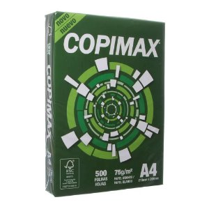 CopiMax Papel Sulfite A4 Branco Copimax com 500 Folhas