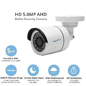 Mini câmera de vigilância ahd, câmera infravermelha de vigilância, 1080p