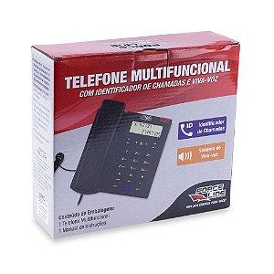Telefone Multifuncional Force Line C/ Ident De Chamadas