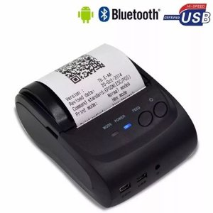 Mini Impressora Bluetooth Termica Portatil 58mm