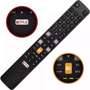 Controle Remoto Semp Tcl Toshiba RC802N /  SKY-9030 / CT-8518