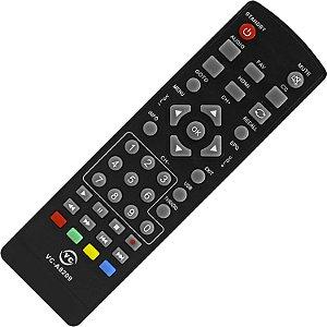 CONTROLE REMOTO COMPATIVEL CONVERSOR MULTILASER VC-A8209/FBG-8052