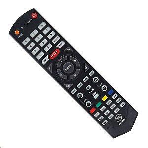 Controle Remoto Semp Toshiba Netflix Vc 8089