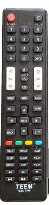 Controle de TV Toshiba TEEM-7045
