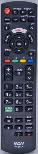 Controle Panasonic Lcd W-011A
