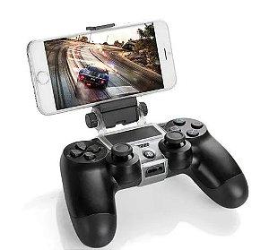 Suporte De Celular Clamp Para Controle Ps4 Playstation 4
