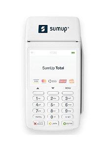 Máquina de Cartão SumUp Total - 3G + Wi-Fi + NFC - Impressão