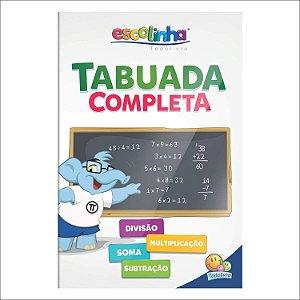 Tabuada Completa - Escolinha TODOLIVRO
