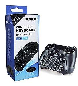 Mini Teclado Sem Fio Para Controle De Ps4 Wireless Keyboard Playstation 4