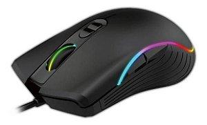 Mouse Gamer Óptico RGB 3200dpi Pc Usb Lehmox DPI Ajustável