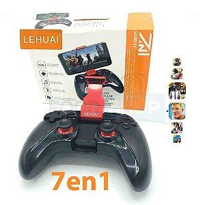GamePad - LEHUAI - Controle Bluetooth para celular Android
