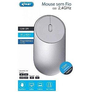 Mouse Sem Fio G22 - Knup