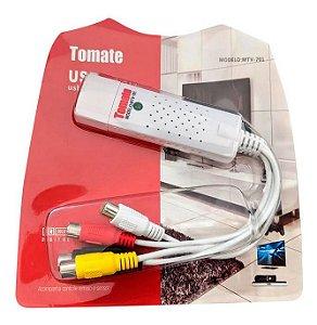 PLACA CAPTURA USB VIDEO AUDIO MTV-701 TOMATE