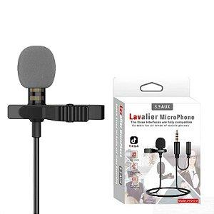 LAVALIER - Microphone Lapela JH 043 3.5mm