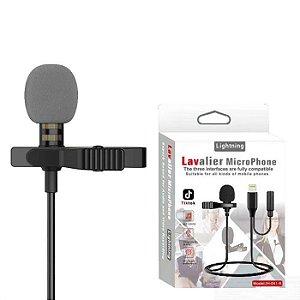 LAVALIERMicrophone Lapela JH 041 Lightning