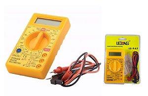 Multímetro Digital Lelong LE-945