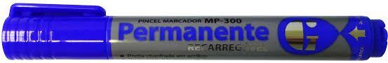 Pincel Marcador Permanente - MP-800 - Azul