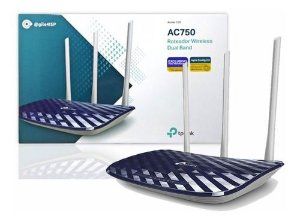 Roteador Wireless Dual Band AC750 - @gile4ISP