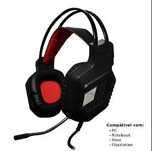 Fone De Ouvido Gamer Headset Com Led Gaming