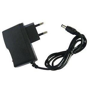 Fonte Flex AC/DC Plug P4 C+ 9v/1A