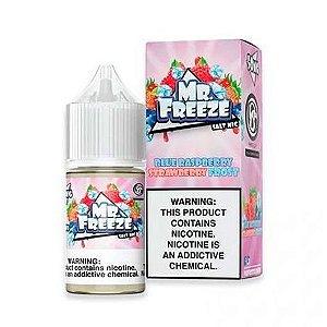 Líquido Mr Freeze Nic Salt - Blue Raspberry Strawberry Frost