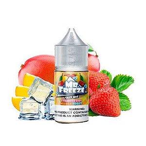 Líquido Mr Freeze Nic Salt - Strawberry Mango Frost