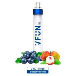 Pod Descartável VFUN LED - Blueberry Lychee