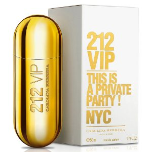 212 Vip Feminino de Carolina Herrera Eau De Parfum Feminino 80 ml
