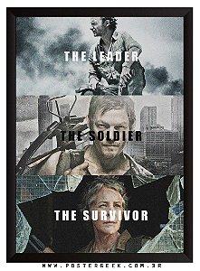 Rick, Daryl, Carol - The Walking Dead